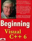 Beginning: Visual C++ 6 by Ivor Horton (1998, Paperback)