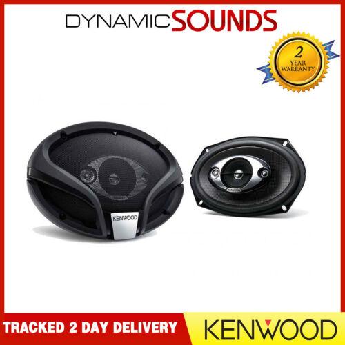 "KENWOOD 6/""x9/"" 6x9 4-way Car Rear Deck Oval Shelf Speakers Pair 900W Total Power"