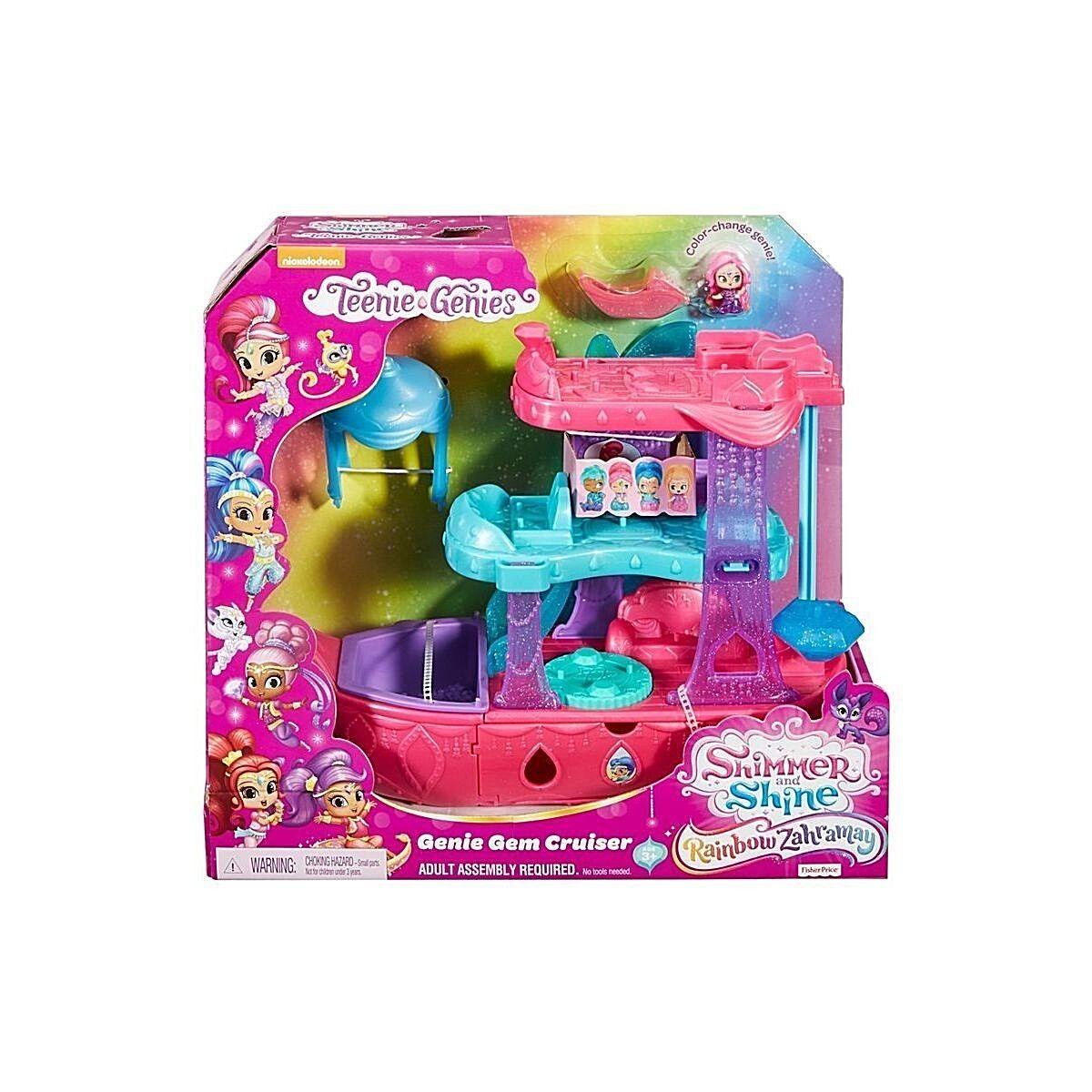 Shimmer And Shine Teenie Genie Gem Cruiser Playset Kids Christmas Birthday Gift