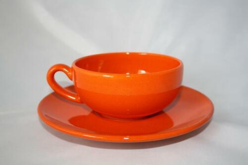 Untertasse 16,5cm Tasse Wächtersbach 1.Wahl Tee Set pumpkin 200ml Teetasse