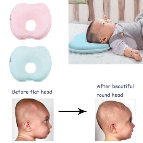 GS Babykissen Babykopfkissen Lagerungskissen gegen Verformung Memoryschaum Uni
