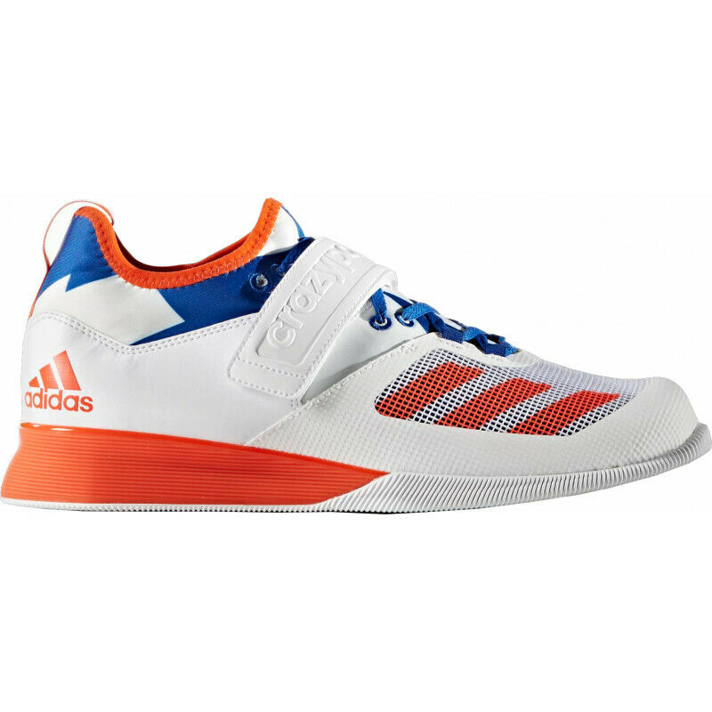 Mens Adidas Crazy Power Mens Weightlifting shoes - White