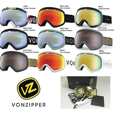 NEW VonZipper Skylab Spherical Mens Womens Ski Snowboard Goggles +lens Msrp$140