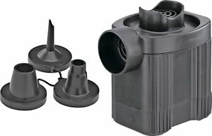 Battery Powered Portable Pump with 3 Adaptors