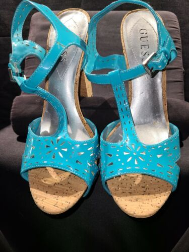 Guess Turquoise Shoe Size 8
