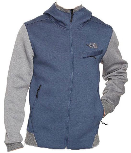 7679bb6c4 Men's North Face Thermal 3D Full Zip Hoodie Shady Blue/Black Heather Jacket