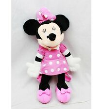 """Disney Minnie Mouse 17"""" Plush Backpack Tote-Licensed Product--NEW!"""