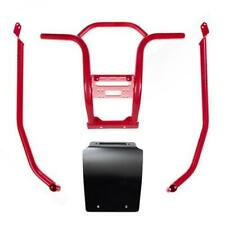 HMF Racing HD Defender Front Bumper Guard UTV Red Honda Talon 1000R/1000X