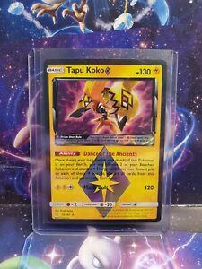 Pokemon TCG SM Team Up Tapu Koko Prism Star 51//181 NM-Mint