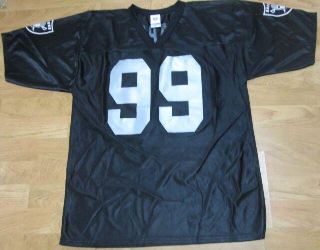 huge discount babb4 e3eed NFL Oakland Raiders Black Jersey Medium 100 Polyester SAAP 99 NFL Football