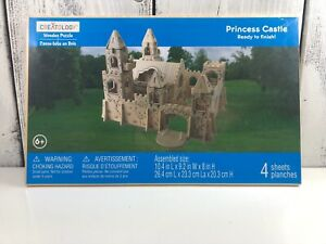 NIP-Creatology-Wooden-Puzzle-Princess-Castle-Good-New-condition-Fun-Crafts