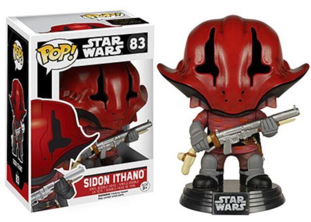 Funko Pop! Star Wars Episode 7 Sidon Ithano Pop Vinyl Figure Bobble Head #83
