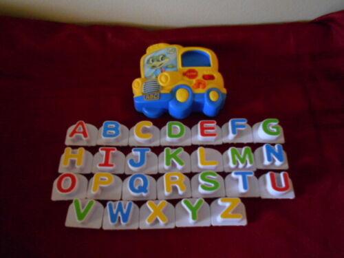 LeapFrog ABC School Bus Fridge Phonics Player and Upper Case Letter Set Complete