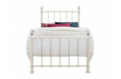 Cute Childrens Bed With Beautiful Heart Castings 3ft Colour//Mattress Option