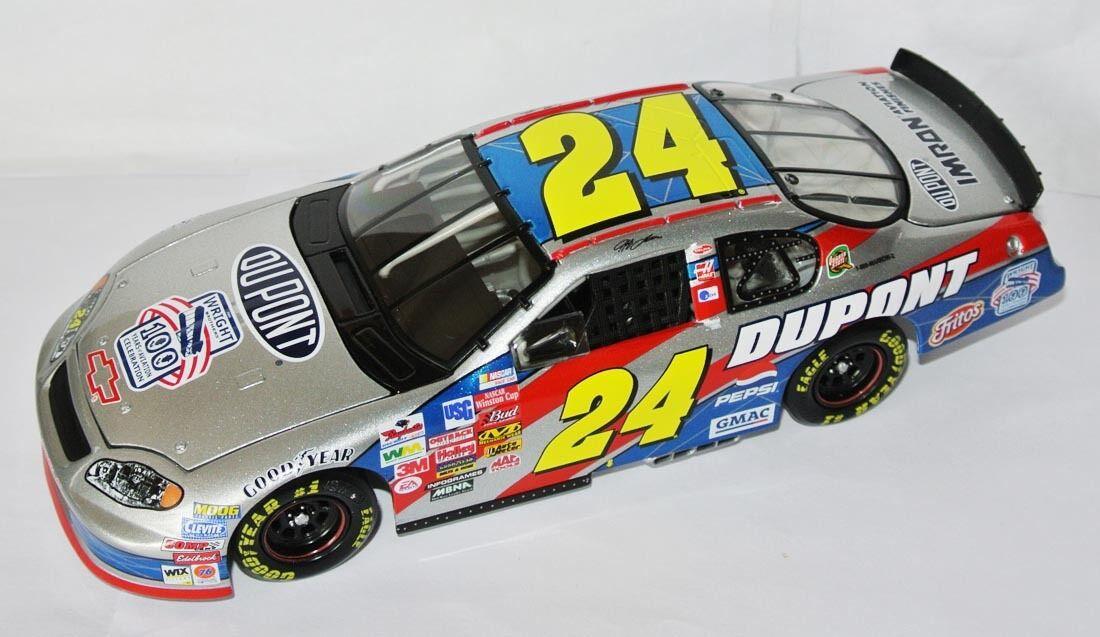 24 CHEVY NASCAR 2003  Dupont Wright Brougehers  Jeff Gordon - 1 24 Lim. Ed.