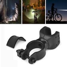 360° Rotation Torch Clip Mount Bicycle Bike Light Flashlight Bracket New Ho W2B6