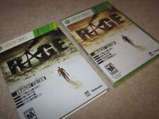 Rage Anarchy Edition + slip cover (Xbox 360/One) limited collector, new SEALED