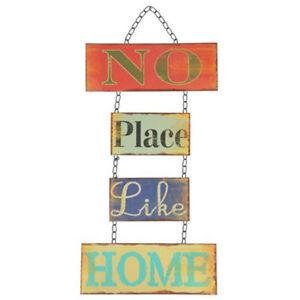 Placa-Decorativa-Casa-52x26-Letrero-de-Metal-Cartel-Puerta-Decoracion-Pared