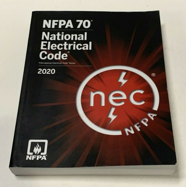 NFPA 70 NEC 2020 National Electrical Code Paperback ...