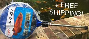 Fish-Net-14inch-Round-Heavy-Duty-for-fish-with-metal-handle-FREE-SHIPPING