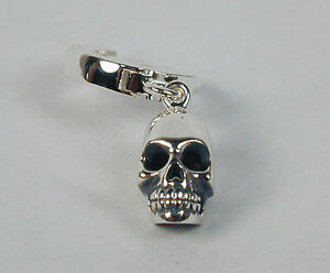 TummyToys-Navel-Belly-Ring-with-Sterling-Silver-Skull-Charm-14mm-Free-Ship