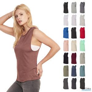 f95701af2149a Bella + Canvas Women s Flowy Scoop Muscle Tank Top Low Cut Armholes ...