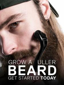 Barba Derma Roller Titanium para crescimento de cabelo mesoroller pele máquina para o rosto