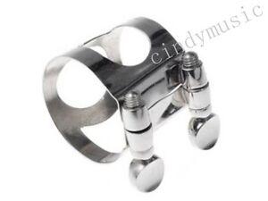 Clarinet-Mouthpiece-nickel-metal-Ligature-clarinet-parts-Bb-NEW