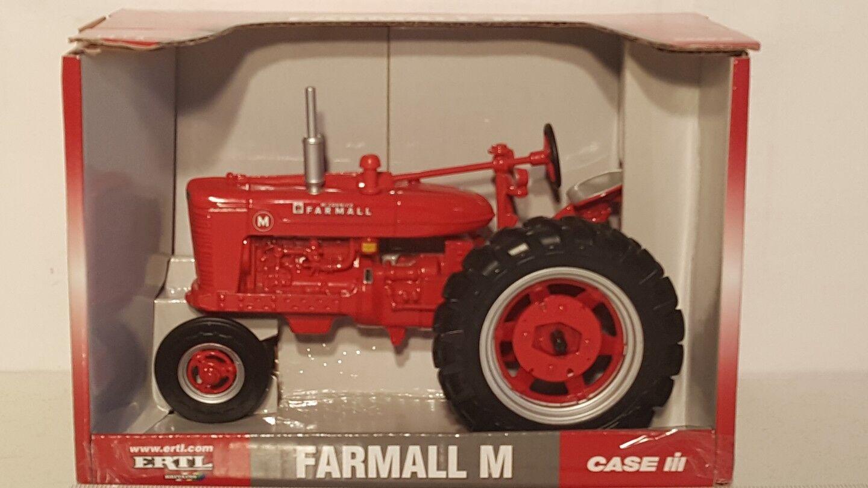 Ertl Farmall M 1 16 diecast metal farm tractor replica collectible
