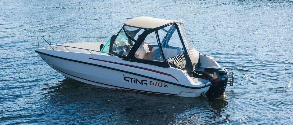 Sting 610 S, Motorbåd, fod 20