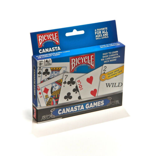 108 Card Canasta Deck Bicycle Canasta Games Playing Cards