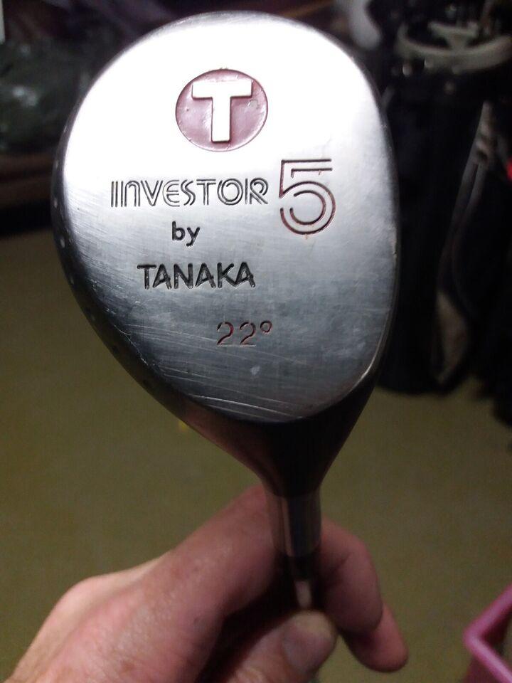 Herre golfsæt, stål, Tribute