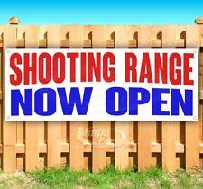 Shooting Range Now Open Advertising Vinyl Banner Flag Sign Many Sizes
