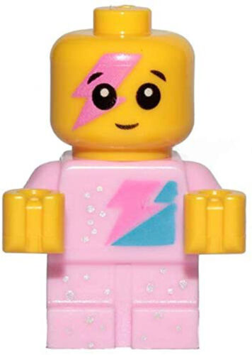 LEGO The Movie 2 Minifigure Pink Sparkle Baby Minifig Very Small From Set 70847