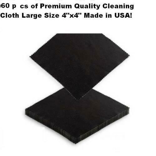 60 X Microfiber Cleaning Cloth Smart Phone Camera Lens Screen Glasses Monitor