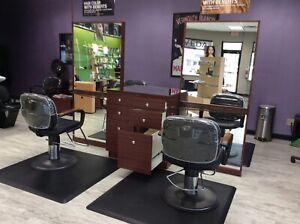 Beauty Salon Equipment 1 Unit 4 Stations Matts Chairs Incl 2 Units Total Ebay