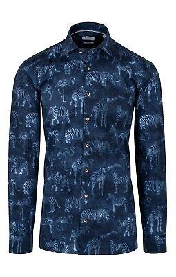 Giordano Men/'s 817584 60 Bold Floral Pattern Shirt Navy Giordano Shirt