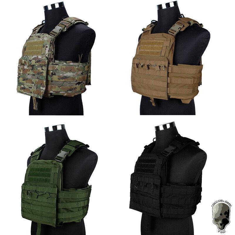 Chaleco Portador de  Placa TMC CPC caza Molle Militar armadura corporal Genuino Militar  nueva gama alta exclusiva