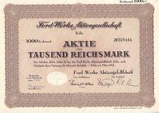 Ford - Werke AG  Köln 1941