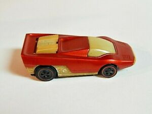 Hot Wheels Redline Sizzlers 1970  STRAIGHT SCOOP  RED #349  Not Tested