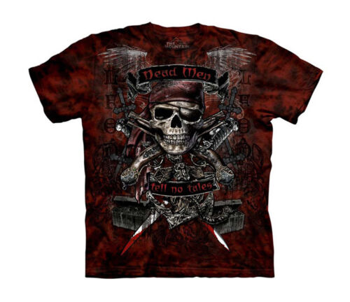 Dead Men Tell No Tales Pirates Big Boys T-Shirt Tee