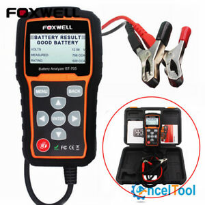 FOXWELL-BT705-12V-amp-24V-100-2000-CCA-Car-Battery-Load-Tester-Cranking-Charging-Sys