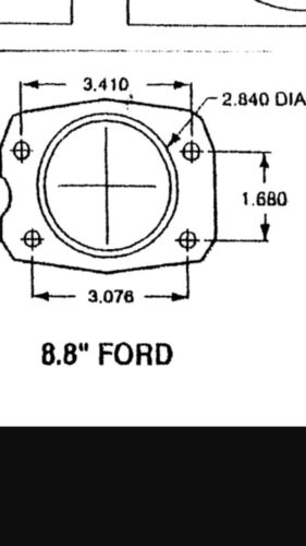 "Ford 8.8/"" Rear Brake Swap C5 C6 Corvette Conversion"