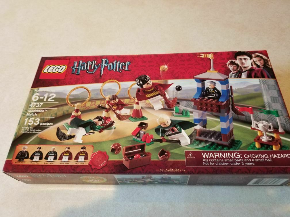 NEW SEALED Lego Harry Potter 4737 Quidditch Match Set