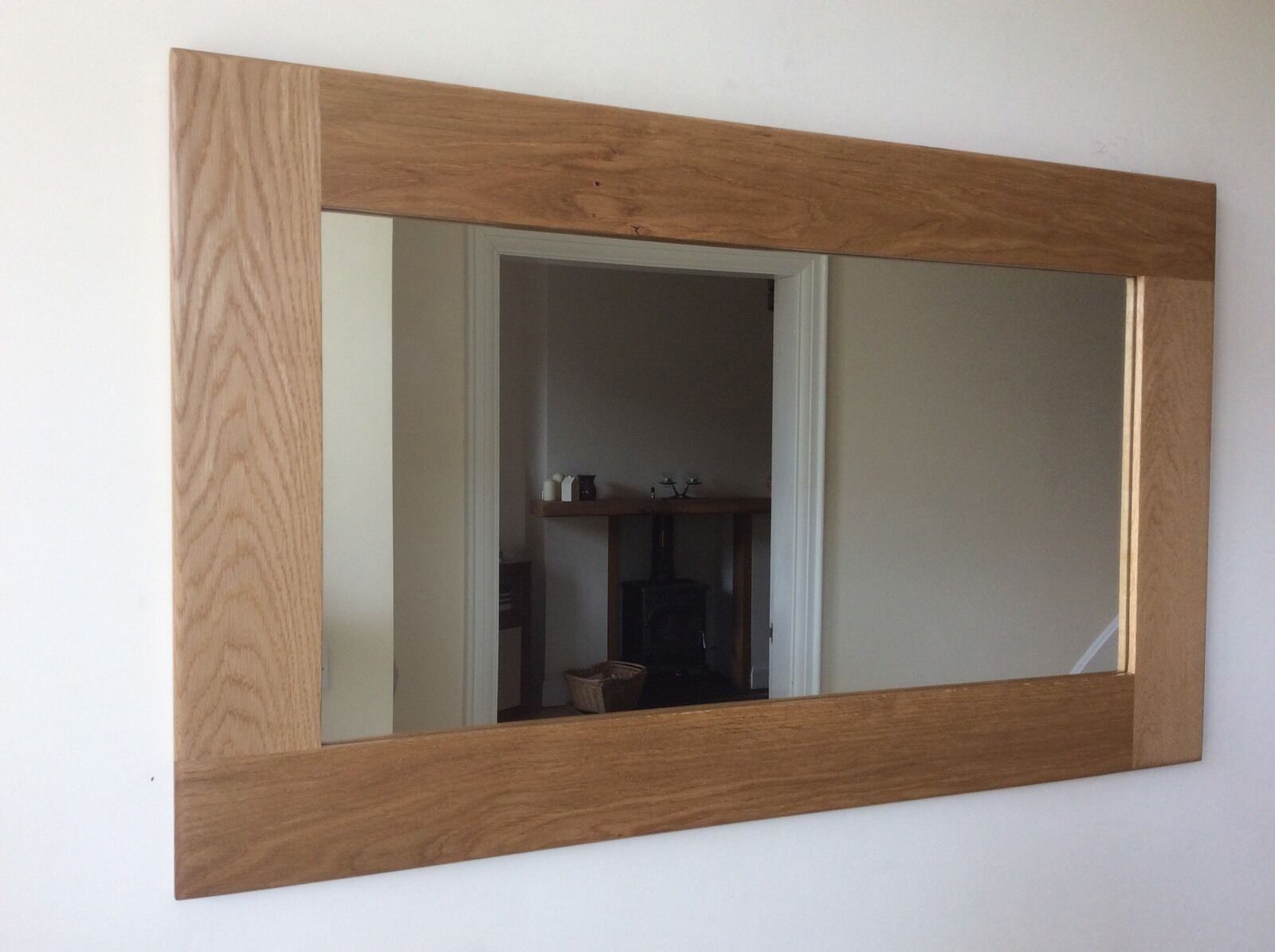 Beautiful Quality Handmade Solid Oak Wooden Mirror