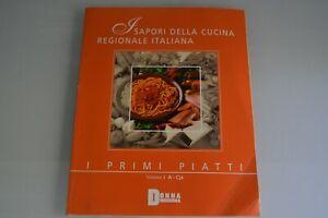 Dettagli su Sapori cucina regionale italiana Primi piatti Donna moderna