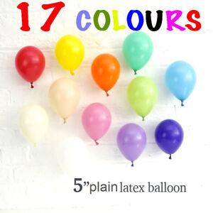 5-034-POLLICI-PALLONCINI-PICCOLI-LATTICE-25-100-Palloncino-standard-di-qualita-17-COLORI-palloncino