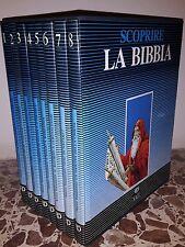 Scoprire la Bibbia Ed. Paoline Saie Cofanetto 8 volumi Fumetti Antico Testamento