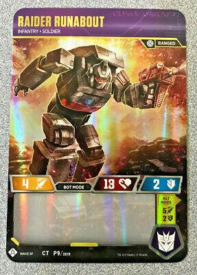 Raider Runabout Transformers TCG Promo MINT FREE SHIP