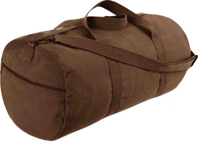 Buy Rothco 2243 - Earth Brown Heavyweight Canvas Shoulder Bag online ... 8eaac7a8d0c08
